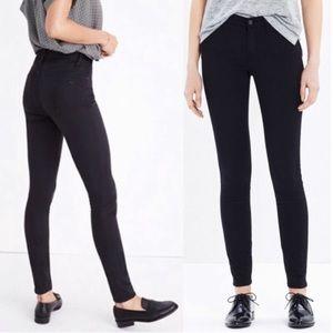 Madewell Skinny Skinny High Riser Black Jeans